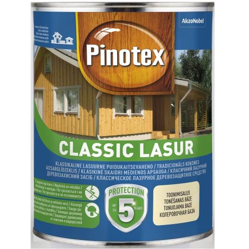 Aizsarglīdzeklis koksnei PINOTEX Classic Lasur tīkkoks